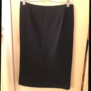 Charter Club Black Pencil Skirt